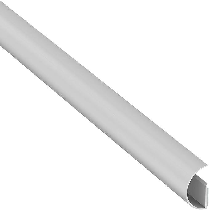 D Line Mini Cabletrac Beliebter Kabelkanal Lösung Zum Sortieren Von Kabeln Flexible Kabelmanagementlösung 30 Mm B X 15 Mm H X 1 Meter L Weiß Garten
