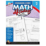 img - for Carson Dellosa Common Core 4 Today Workbook, Math, Grade 2, 96 Pages (CDP104591) book / textbook / text book
