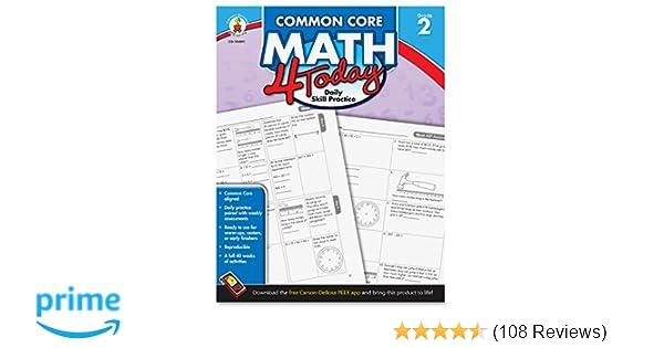 Amazon.com: Carson Dellosa Common Core 4 Today Workbook, Math, Grade ...