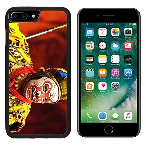 [MSD Premium Apple iPhone 7 Plus Aluminum Backplate Bumper Snap Case iPhone7 Plus IMAGE ID: 6825880 china Opera Monkey King] (China Cultural Costume)