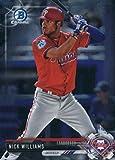 2017 Bowman Chrome Prospects #BCP240 Nick Williams Philadelphia Phillies Baseball Card