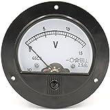 Baomain 65C5 Analogue Panel Meter Volt Voltage Gauge Analog Voltmeter DC 0-15 V