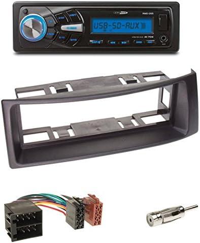 Radio Juego de montaje: Auto Radio Caliber rmd055 USB/SD/FM ...