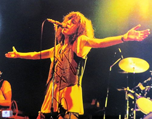Patti Smith Signed Autographed 11X14 Photo Vintage Rock Singer Performing 801492 ()