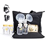 Medela double breastpump with On the Go Tote Pump In Style Advanced(Free gift Medela save breastmilk Bags,20 Count)