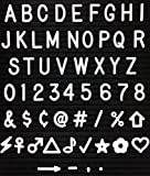 "1"" Letters and Characters for Changeable Letter Boards 