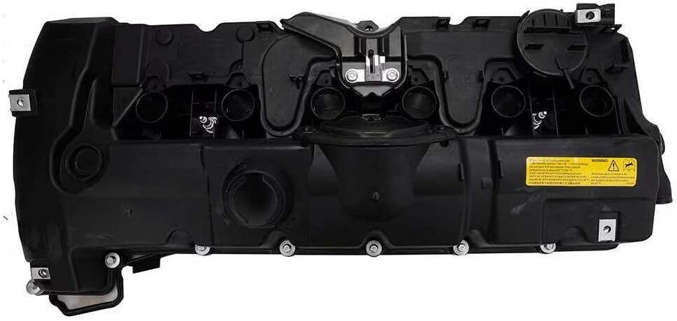 EMIAOTO Engine Valve Cover for BMW E82 E90 E70 Z4 X3 X5 128i 328i 528i N52 11127552281