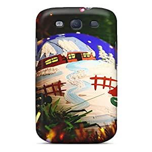 High Quality SGZ76hNsm Painted Christmas Ball Tpu Case For Galaxy S3 by lolosakes