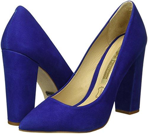Zs 15 Tacco azul 5057 61 London Buffalo Blu Scarpe Donna Nobuck Con O5vqt4w0n