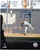 Autographed Wilbur Wood Photograph - 3 X ALL STAR 4 X 20 WINS 8x10 - Autographed MLB Photos