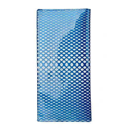 Imprimé De Vachette Motif main Cuir Sacs Bleu ciel sac Verni à QZTG Portefeuille en Cuir Femmes en pour vZz6xwS