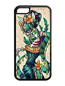 Popular Design Dance of the Dead Horrible Black Iphone 5c Silicone Cover Case