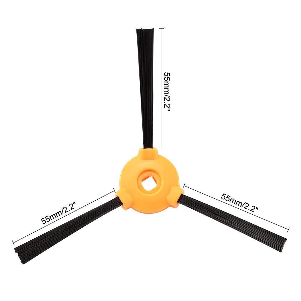 LQNB Kit De Accesorios De Reemplazo Filtro Cepillo Principal Cepillo Lateral para Deebot N79S N79 Aspiradora Robotica Filtro + Cepillo