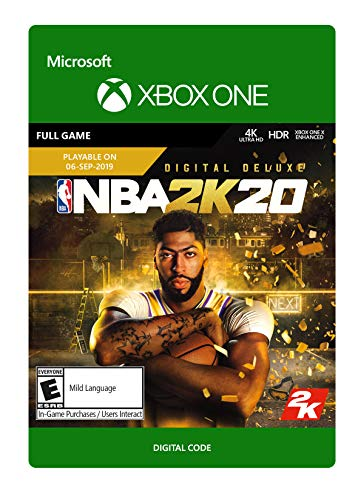 NBA 2K20: Digital Deluxe - Xbox One [Digital Code] from 2K Games