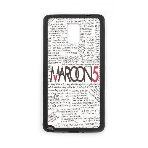 Custom maroon 5 Hard Case for SamSung Galaxy note4, Customized