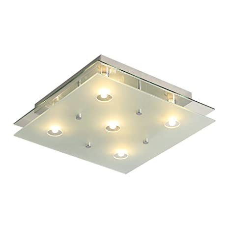 Tatosun LED Ceiling Light IluminacióN De Techo Double Layer ...