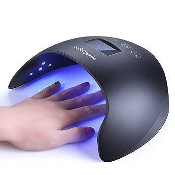Amazon.com: MelodySusie - Lámpara LED UV para uñas, 48 W ...