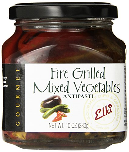 Elki's Gourmet Fire Grilled Mixed Vegetables, 10 Ounce ()