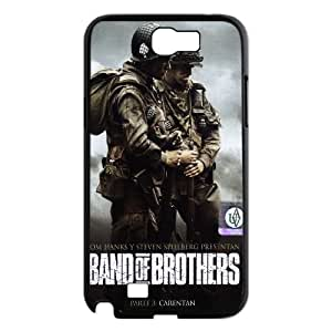 WEUKK Band of Brothers Samsung Galaxy Note2 N7100 phone case, diy phone case for Samsung Galaxy Note2 N7100 Band of Brothers, diy Band of Brothers cover case