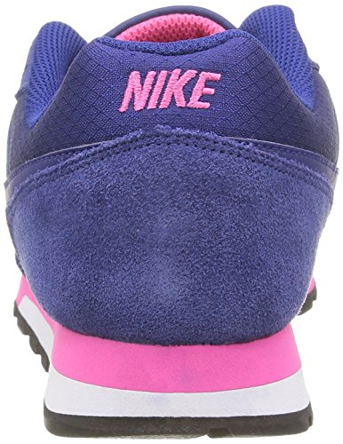 para NIKE 446 Deep Royal MD Blue Runner White Mujer Deep Royal Fl Blue Wmns Azul Zapatillas Pink 2 rrX1Tq