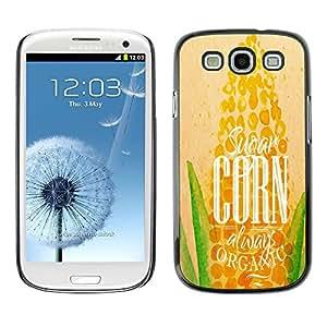 Dragon Case - FOR Samsung Galaxy S3 - wish to succeed - Caja protectora de pl??stico duro de la cubierta Dise?¡Ào Slim Fit