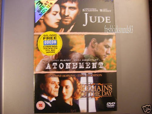 Jude / Atonement / The Remains of the Day