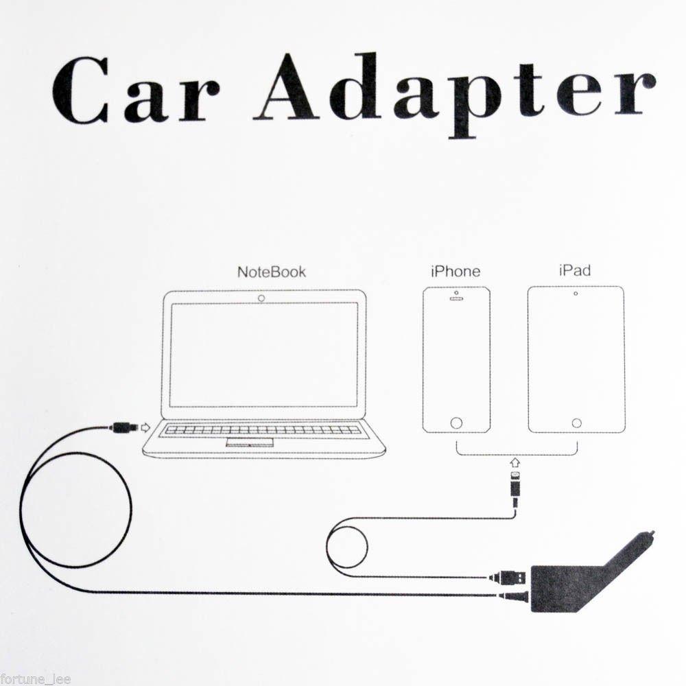 20V 4.5 A 90 W Cargador de Coche bater/ía adaptador 20 V 3.25 A USB para Lenovo ThinkPad Ideapad tambi/én apto para 20 V 2.25 A