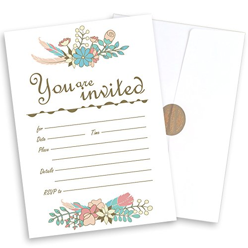 Garden Bridal Shower Invitations - 4