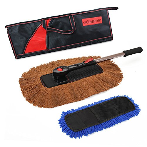 amazon giveaway autolover car duster brush car duster with wax brush and water brush. Black Bedroom Furniture Sets. Home Design Ideas