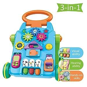 Baby Walker - Juguete para niños pequeños 3 en 1 de ...