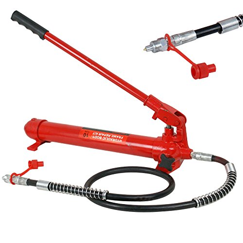 Super Deal Red Porta Power Hydraulic Jack Body 10 Ton Frame Repair Kit Auto Shop Tool (#4) by SUPER DEAL (Image #5)