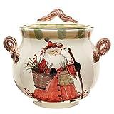 Vietri Old St Nick Biscotti Jar OSN-7844