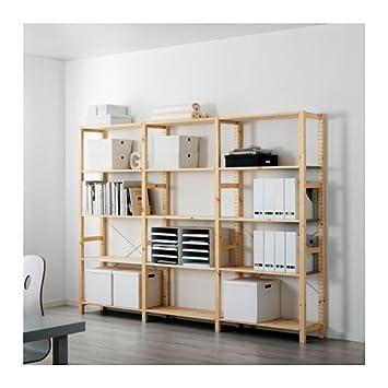 IKEA 3 sección – Estantería, pino, 102 x 11 3/4 x 70