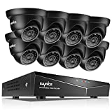 SANNCE 8-Channel HD 1080N Home Security ...