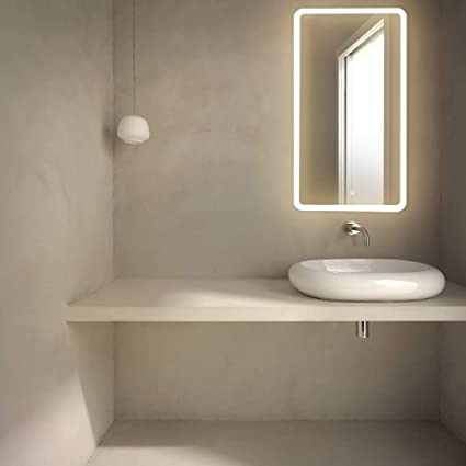 Amazon Com Getinlight Led Wall Mounted Lighted Vanity Mirror Touch
