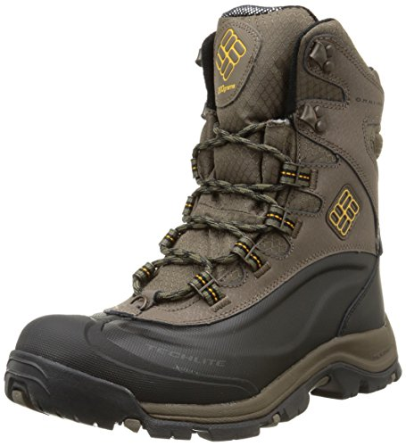 Columbia Mens Bugaboot Plus III Omni-Heat Snow Winter Boots Hiking, Brown...