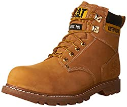 Caterpillar Men's Second Shift Steel Toe Work Boot,honey,10.5 M Us