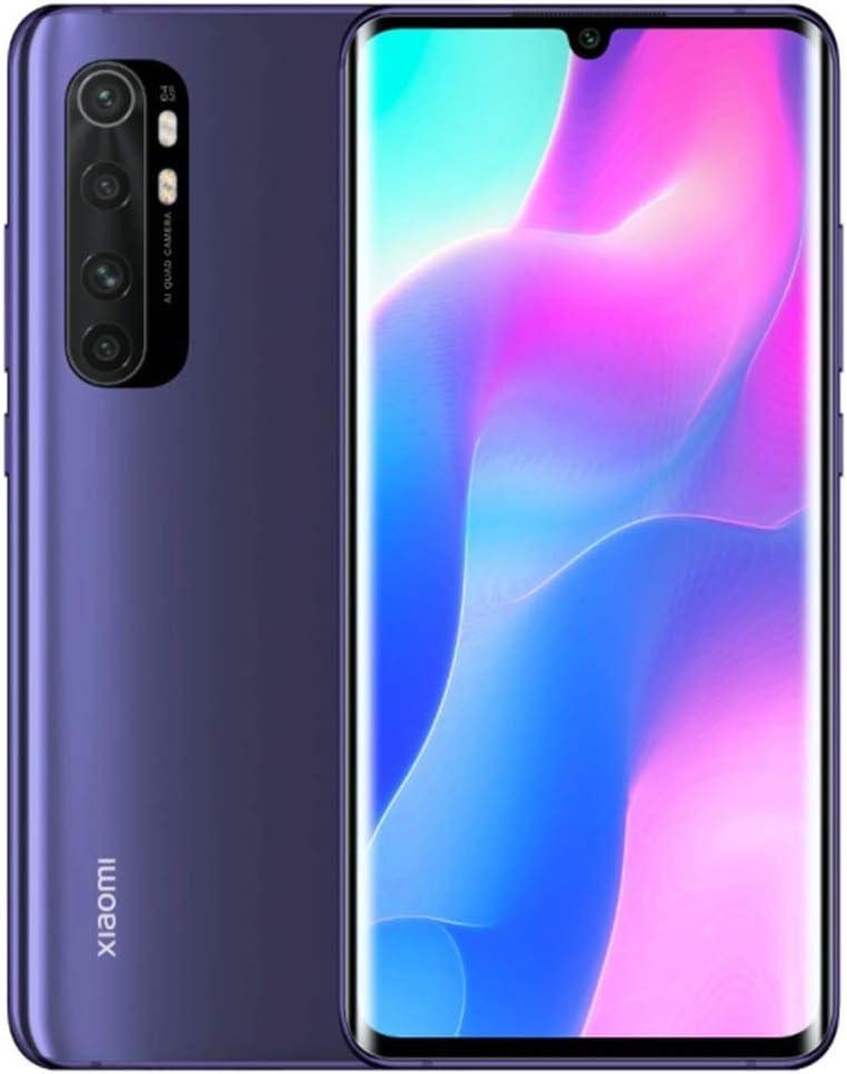 Xiaomi Mi Note 10 Lite - Smartphone 6.47″ 3D Curved AMOLED Display RAM 6GB ROM 128GB Quad Camera (64MP) Púrpura [Global Version]