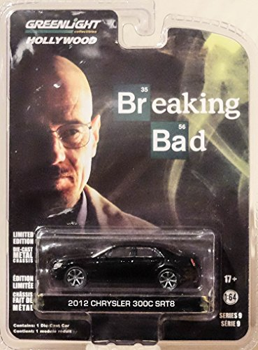 2012 CHRYSLER 300C SRT-8 from the hit television show BREAKING BAD * GL Hollywood Series 9 * 2015 Greenlight Collectibles Limited Edition 1:64 Scale Die Cast Vehicle