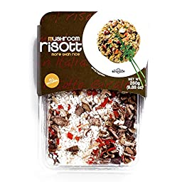 Trevijano Mushroom Risotto 9.87 oz each (2 Items Per Order)