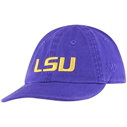 Top of the World LSU Tigers Infant Hat Icon, Purple, Adjustable