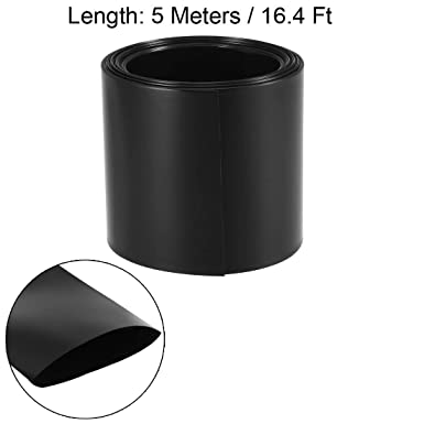 Details about  /PVC Heat Shrink Tube 66mm Flat Width for DIY AA 5 Meters Green