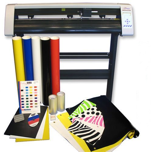 31'' Vinyl Cutter Machine w/Software Vinly Sign Plotter Great Starter Bundle Kit by Eight24hours