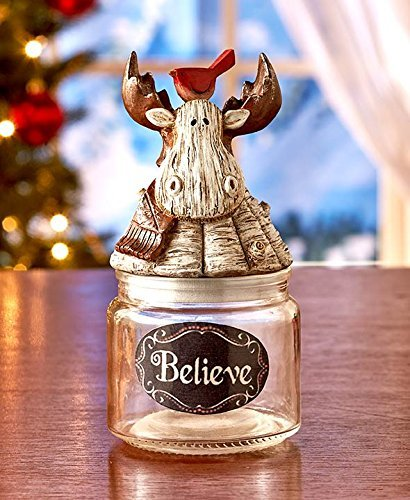 Holiday Reindeer Candy Jars ()
