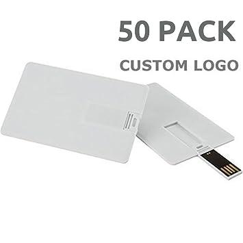 Amazon.com: Enfain tarjeta de crédito unidad flash USB ...
