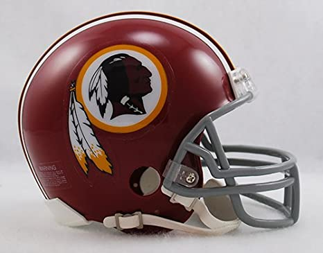Amazon.com  Washington Redskins 1972-1977 Throwback Riddell Mini Football  Helmet - New in Riddell Box  Sports Collectibles a55a98690