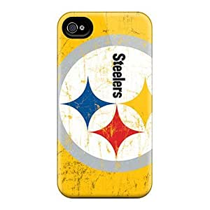 Iphone 6 Cases Covers - Slim Fit Protector Shock Absorbent Cases (pittsburgh Steelers) by kobestar