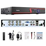 Faittoo H.264 8CH 1080N AHD DVR Hybrid AHD+HVR+TVI+CVI+NVR 5-in-1 Security Surveillance System Standalone Realtime Digital Video Recorder Motion Detection Remote Control View HDMI Output, NO HDD