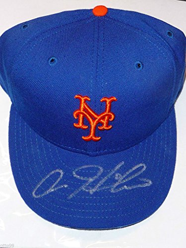 AARON HEILMAN HAND SIGNED OFFICIAL MLB FITTED NEW YORK METS AUTOGRAPHED CAP HAT