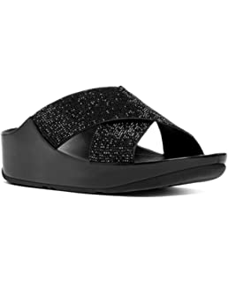 85dd87ef5901d Fitflop Women s Crystall Tm Open Toe Sandals  Amazon.co.uk  Shoes   Bags